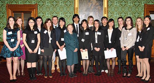 CIFE award winners 2012