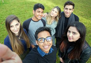 CATS College Cambridge students