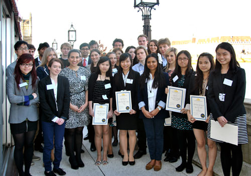 CIFE award winners 2012