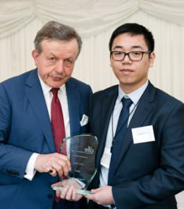 Trung Kien Nguyen won an Andrew Osmond Maths award