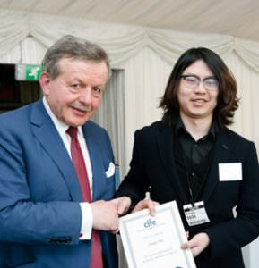 Haiqi Wu receives a 2017 CIFE Award