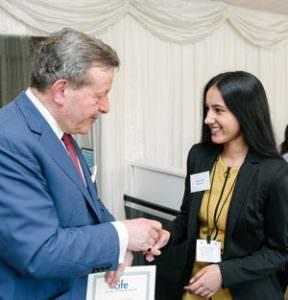 Gurkiran Kalsi receives a 2017 CIFE Award