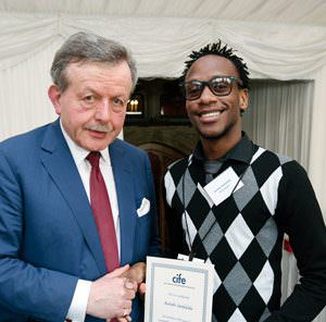 DLD student Karabo receives award from Lord Lexden