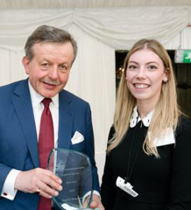The CIFE award for GCSE was won by MPW student Evgenia Alexandrova
