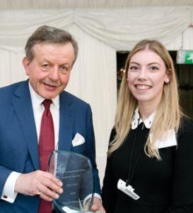 The CIFE award for GCSE was won by MPW student Evgenia Alexandrova