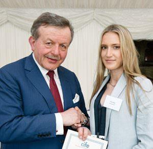 Tara Bage won a CIFE College Prize