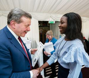 Tracy Nwokoma receives CIFE Award from Lord Lexden