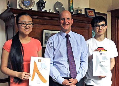 CTC student Le Gia Linh Tran receives RA award