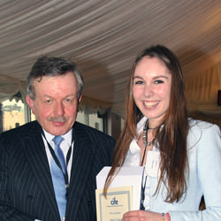 Collingham prize winner Emily Taplin