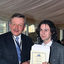 Collingham prize winner Walker Papin