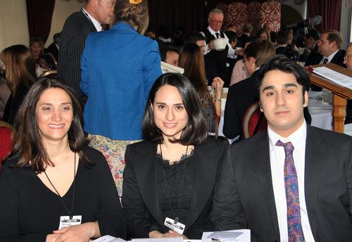 Mehrbod Keshavarzi with family