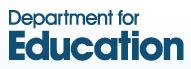 logo for Department for Education